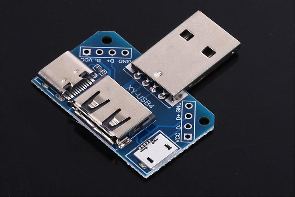 5PCS USB Converter Standard Female to Male (13533) 1