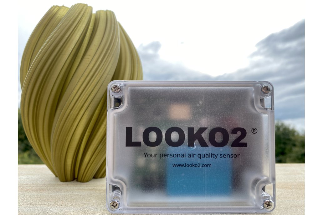 Looko2® Your Personal Air Quality WiFi Sensor 1