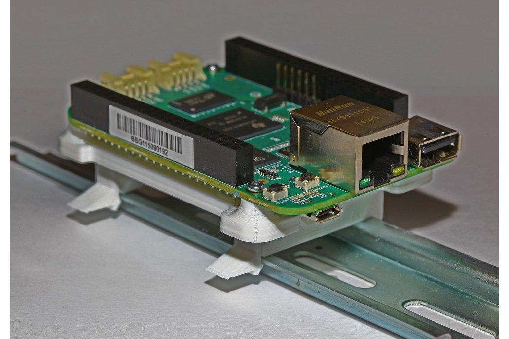 BeagleBone to DIN Rail, 3D Printed 3