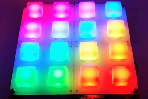 RGB 4x4 Button Pad