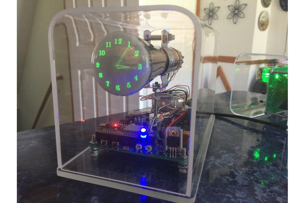 """Oscilloscope Clock 2"""" Cathode Ray Tube 5LO38i OSC7 1"""