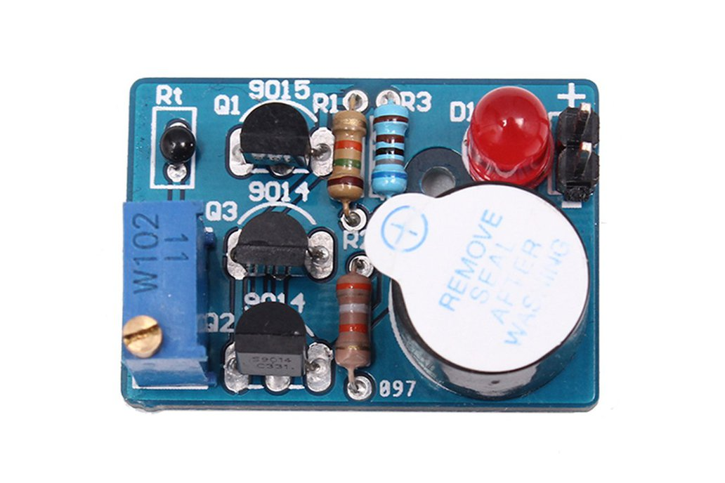 Temperature Control Sound Light Alarm DIY(5425) 1