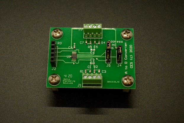 I2C Analog to Digital Converter