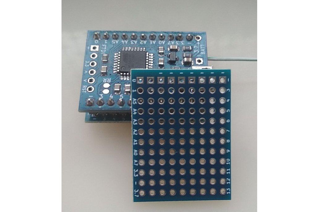 RFM69 radio node mini 1
