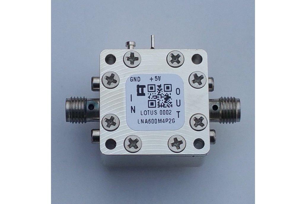 Amplifier-LNA 0.6-4.2GHz Ultra Low Noise Flat Gain 1
