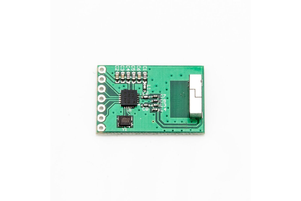 Low-Current Transmitter with Antenna - SI4063 1