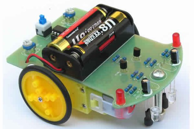 Tracking Robot Car Electronic DIY Kit