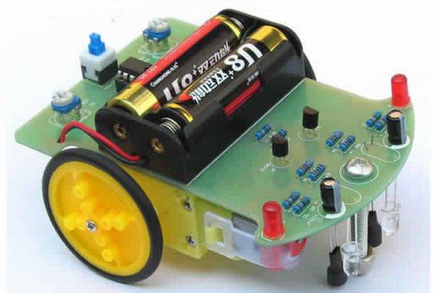 Tracking Robot Car Electronic DIY Kit