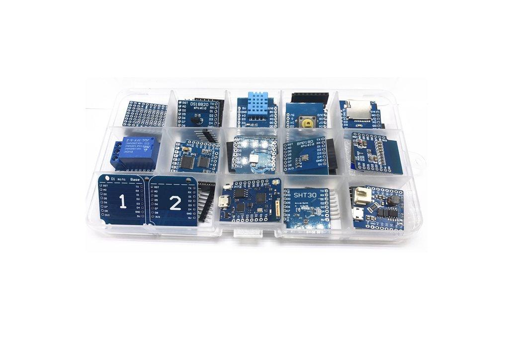 14pcs NodeMcu Lua based on ESP8266 kits 1