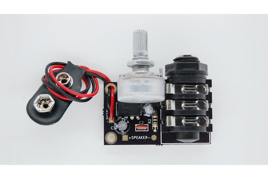 Tymkrs Amplify Me (LM386 Amplifier Kit)