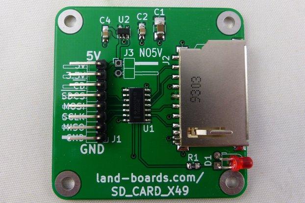 SD Card Adapter (SD_CARD_X49)