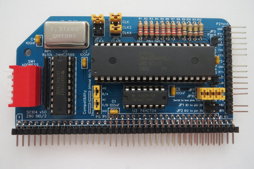 SC104 Z80 SIO/2 Module Kit for RC2014 1