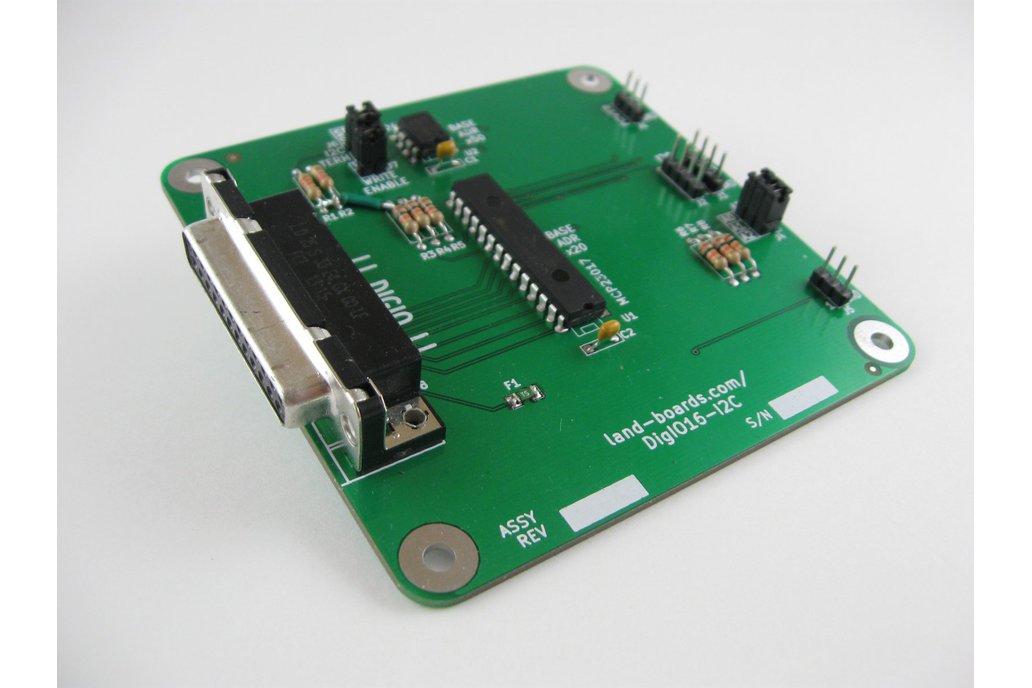 16 Channel Digital I/O Card (DigIO16-I2C) 1