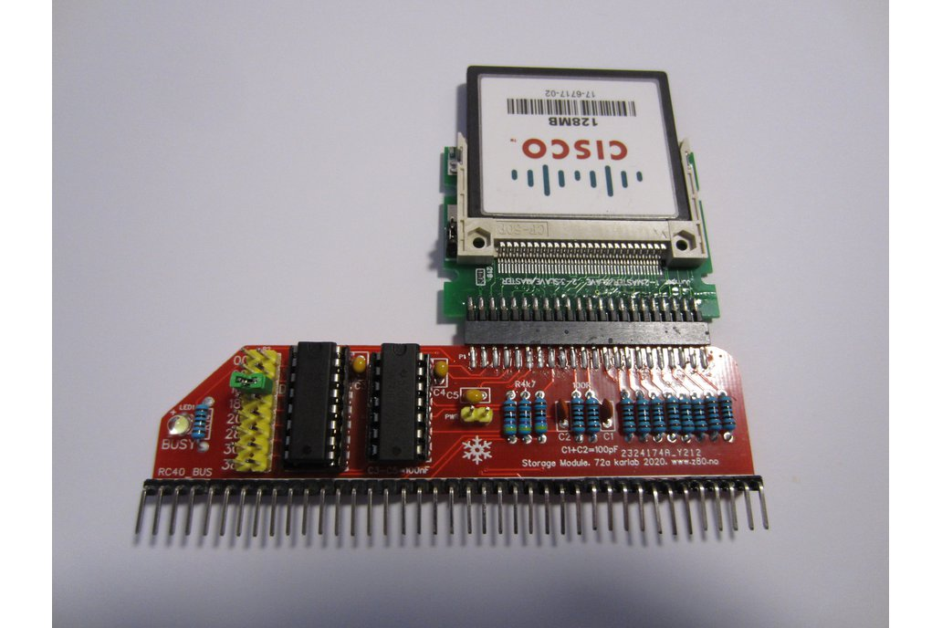 Storage Module using Compact Flash 1
