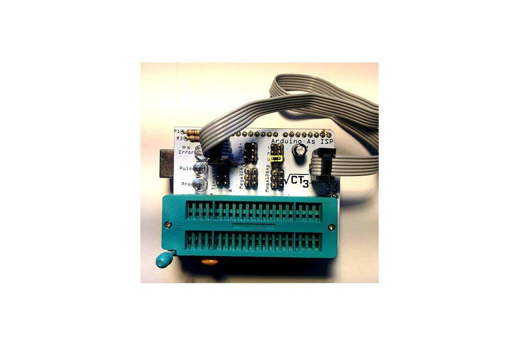 Arduino as ISP shield Atmega328/1284 Attiny85 1