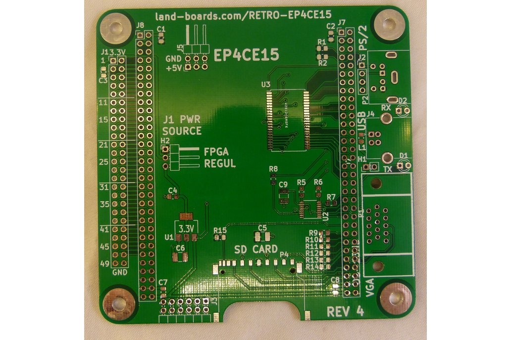 Retrocomputer FPGA Card (PCB only) 1