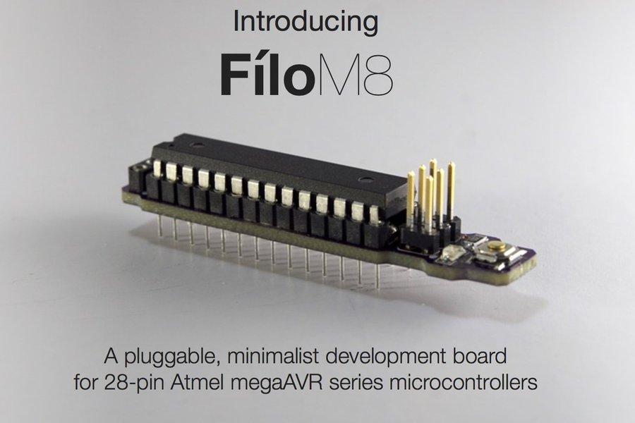 Creltek Filo M8 (AVR Target Board)