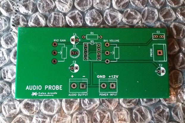 Arcade audio probe (blank board)