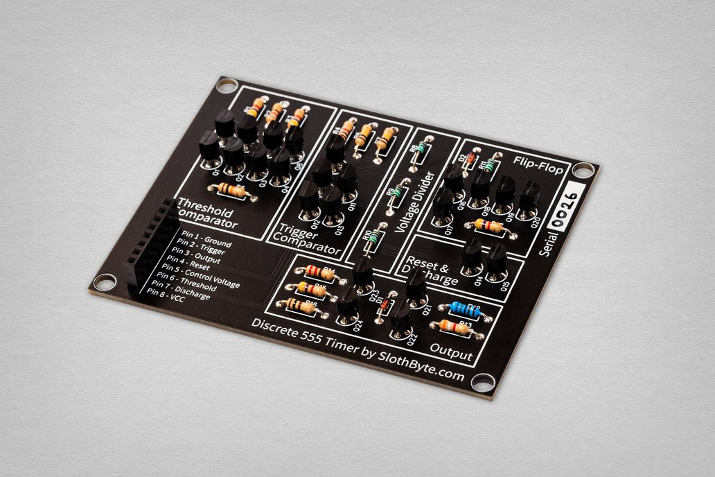 Discrete 555 Timer Kit 1