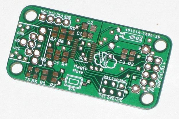 Magic Mote Wireless Sensor Node (2x Bare PCB)