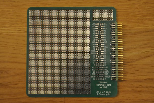 Z50Bus Prototype Card
