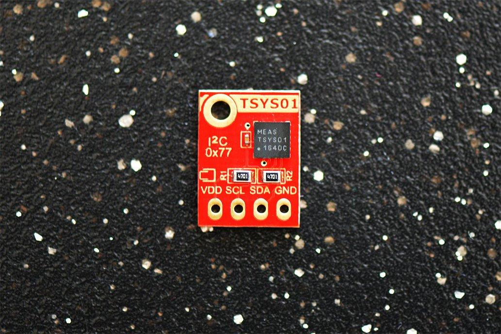 TSYS01 ±0.1°C 24bit ADC Digital Temperature Sensor 1