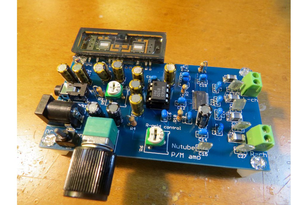 Nutube based 15Wx2 amplifier  KIT with Class-D amp 5