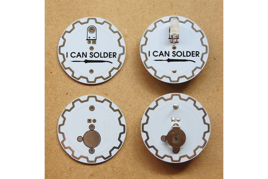 I Can Solder Badge v1