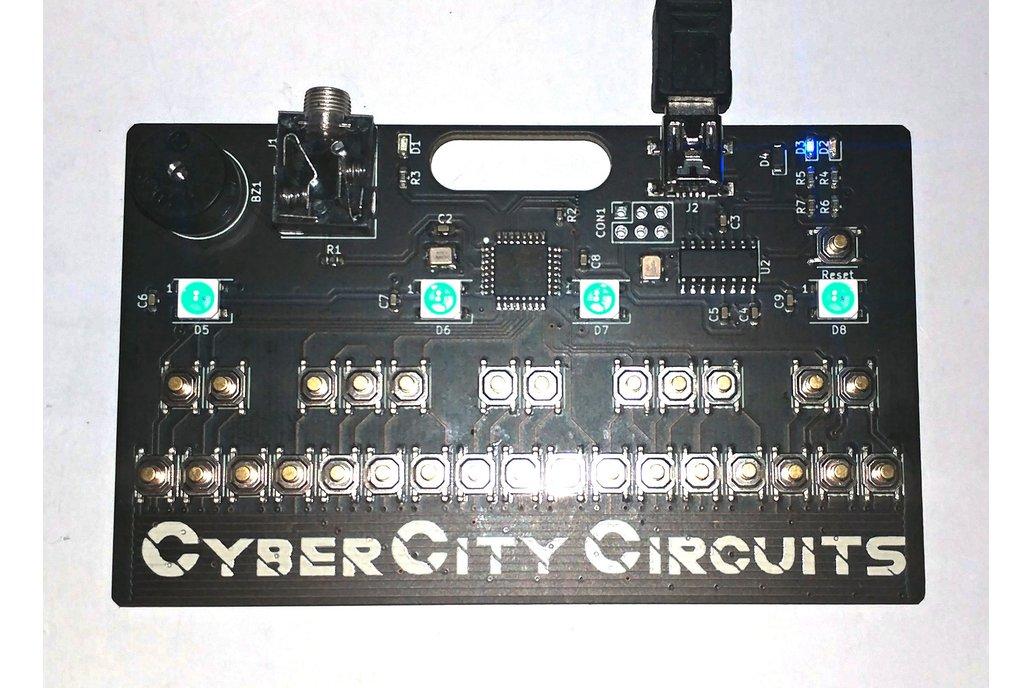 Mini-Tone Keyboard Badge 1