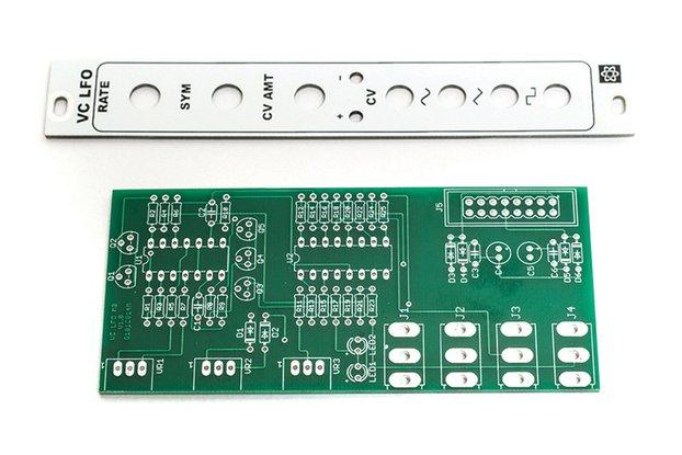 MST VC LFO PCB and Panel Combo