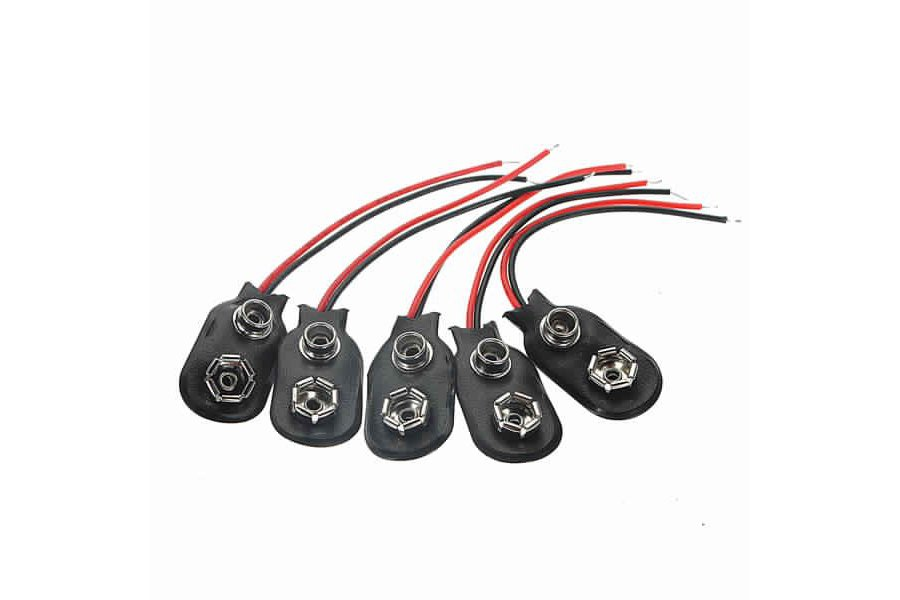 9Volt Battery Clip Connectors 9V