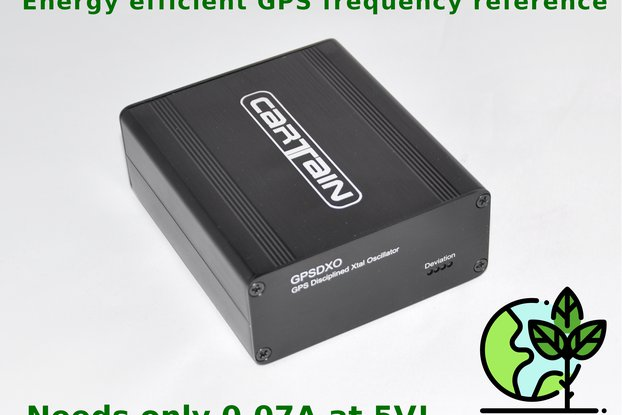 GPS disciplined 40/10MHz frequency source 0.005ppm