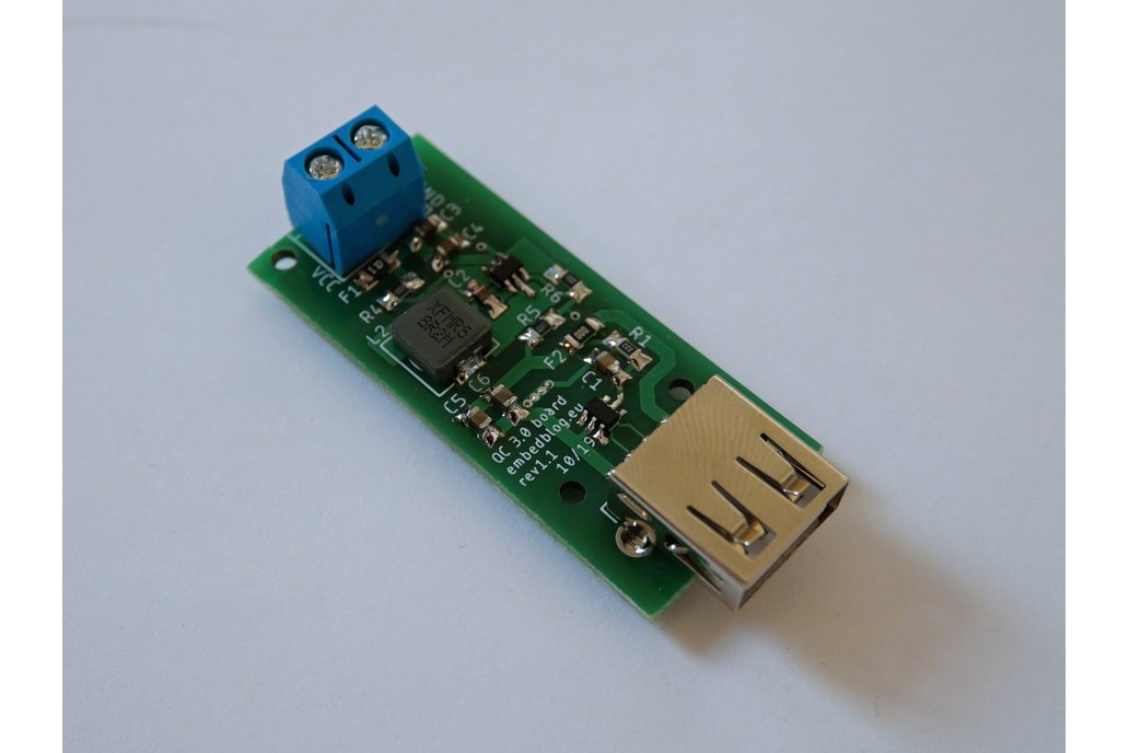 Quick Charge QC 3.0 buck converter board 1