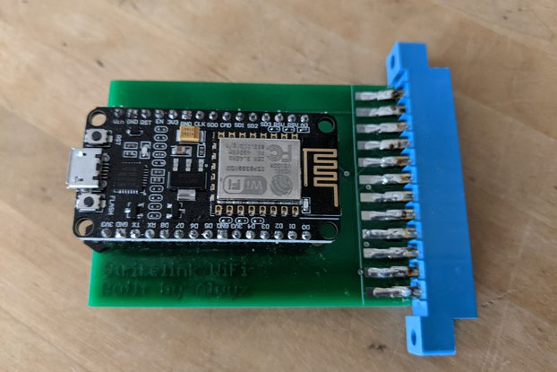 Strikelink WiFi modem C64 designed by Alwyz