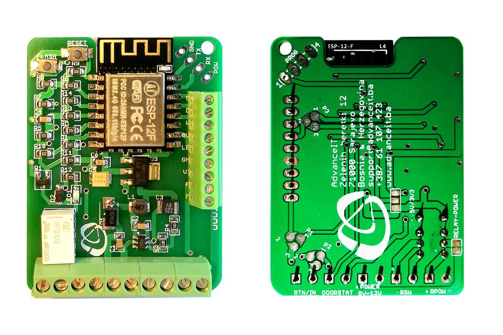 ESP-RFID Relay Board (12V for ESP8266 Board) 3