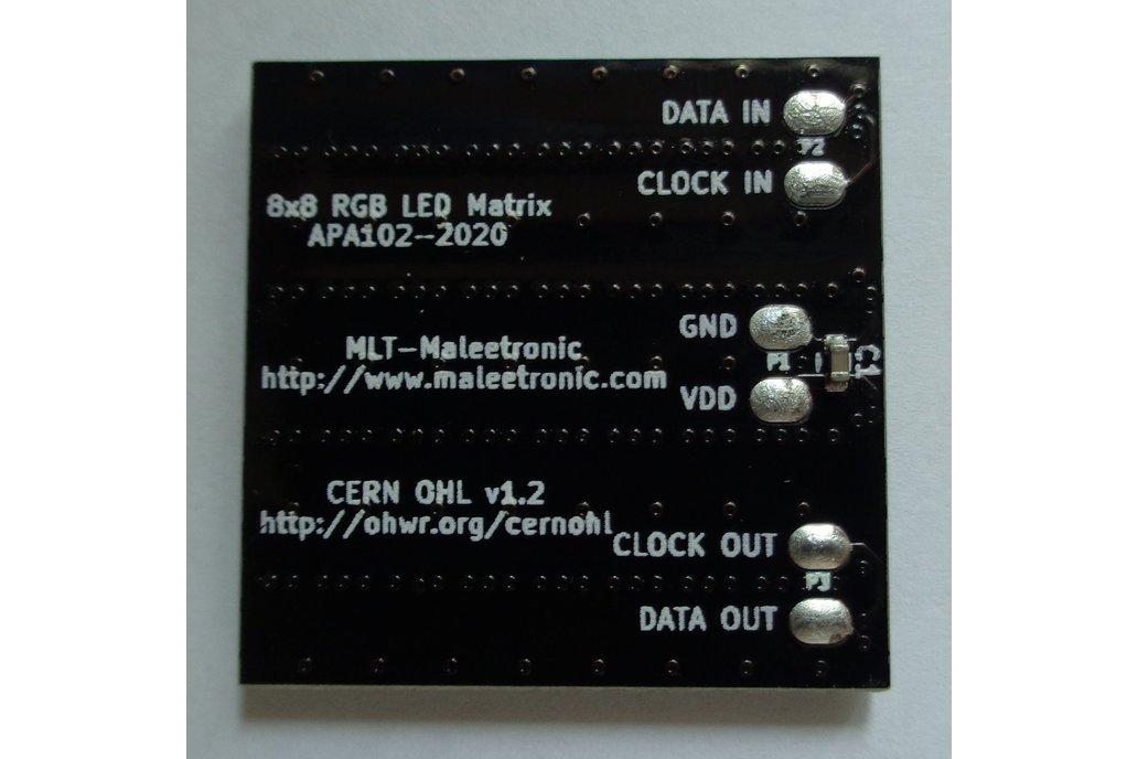 APA102-2020 8x8 RGB LED Matrix 5