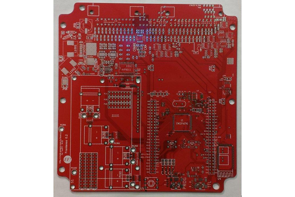 Frankenso bare PCB 1