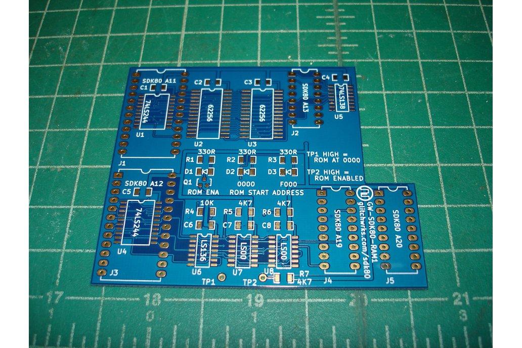 GW-SDK80-RAM1 64K RAM Expansion for Intel SDK-80 1