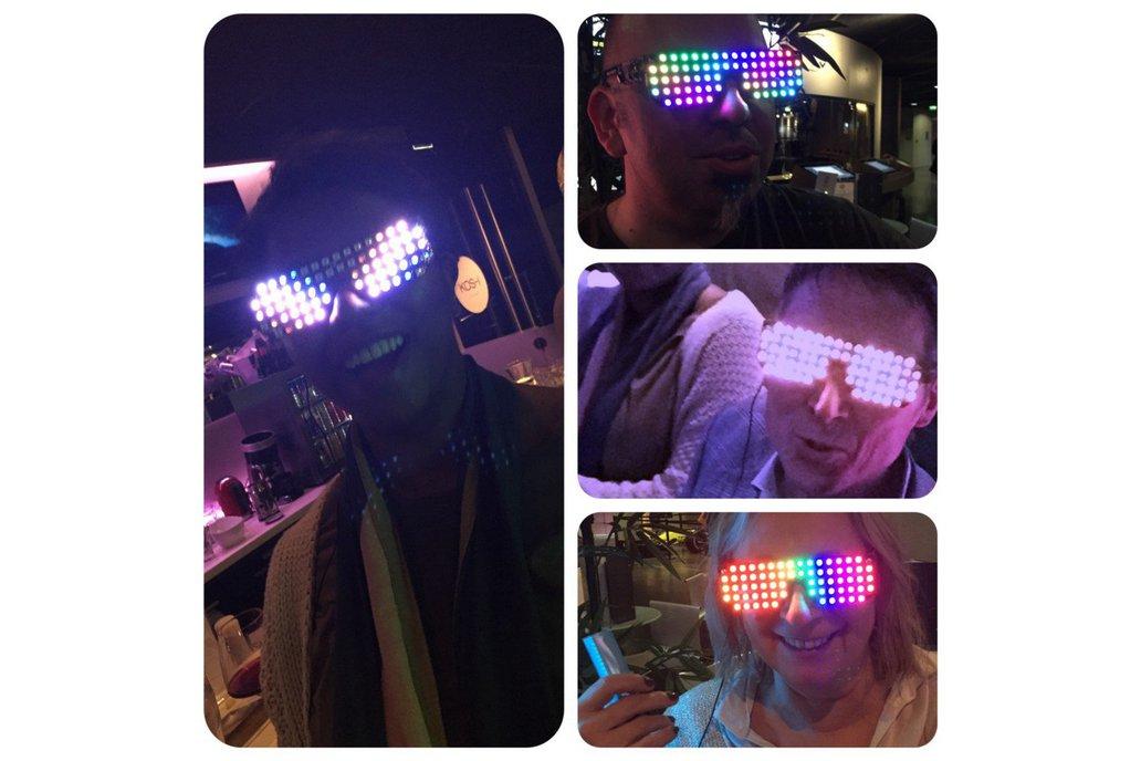 Full Color RGB Led glasses 4