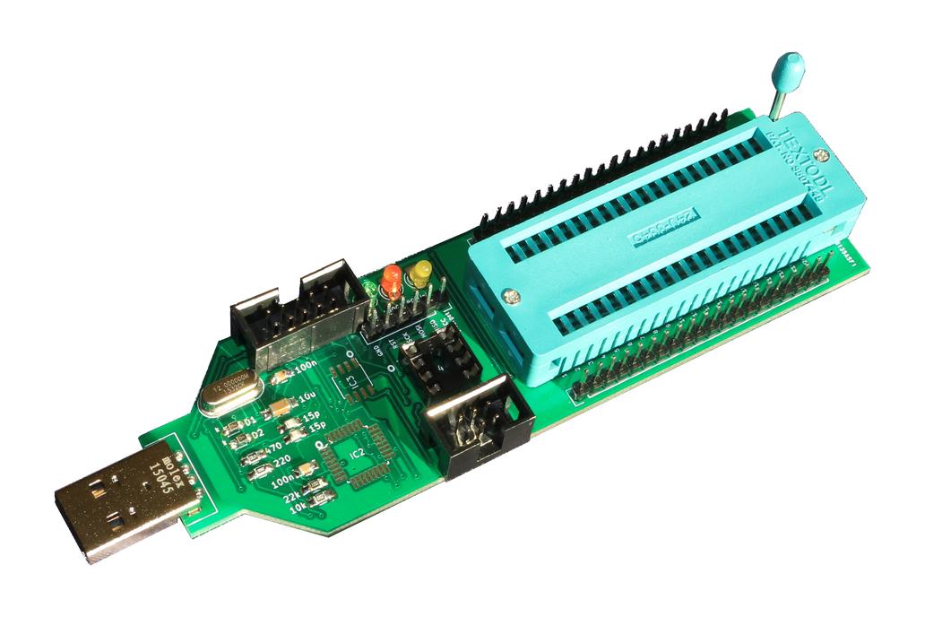 Universal ATMEL AVR ISP programmer 1