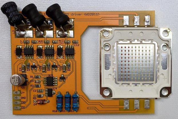 PixelFlood 100W RGB LED (WS2811 mega pixel)