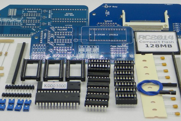 RC2014 CP/M Upgrade Kit for Full Monty