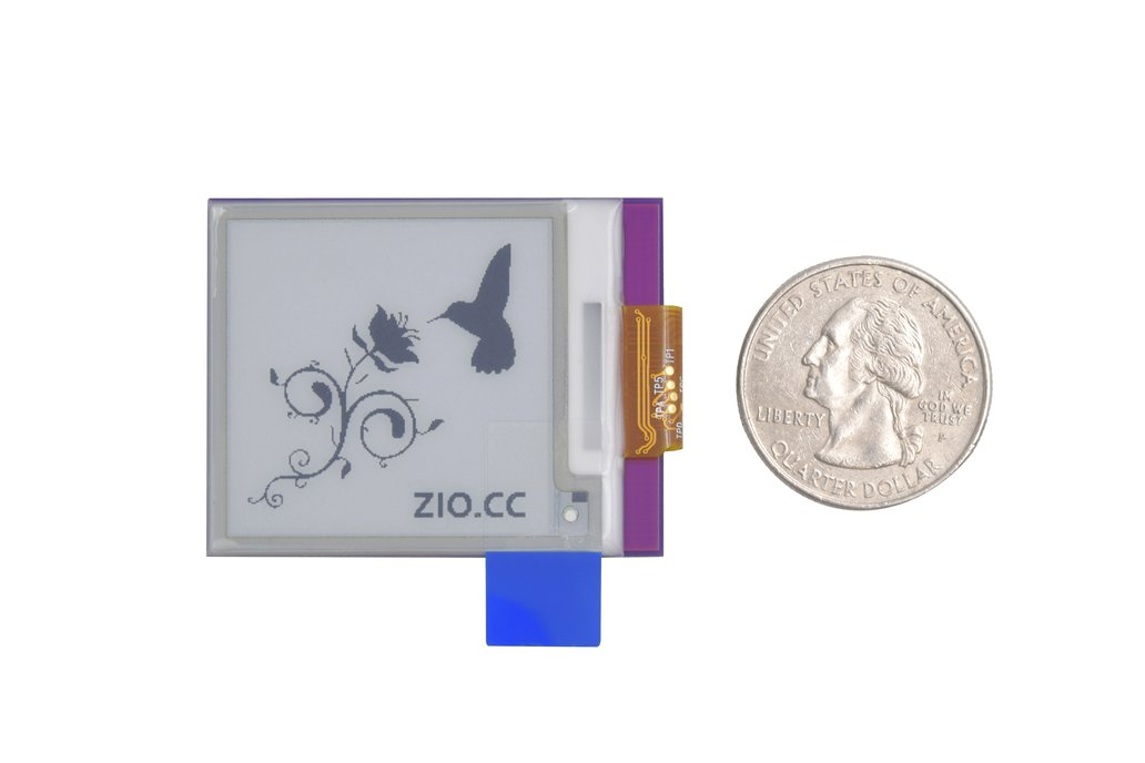 Zio E-Ink Display (1.5 in, 200x 200 pixels) 2