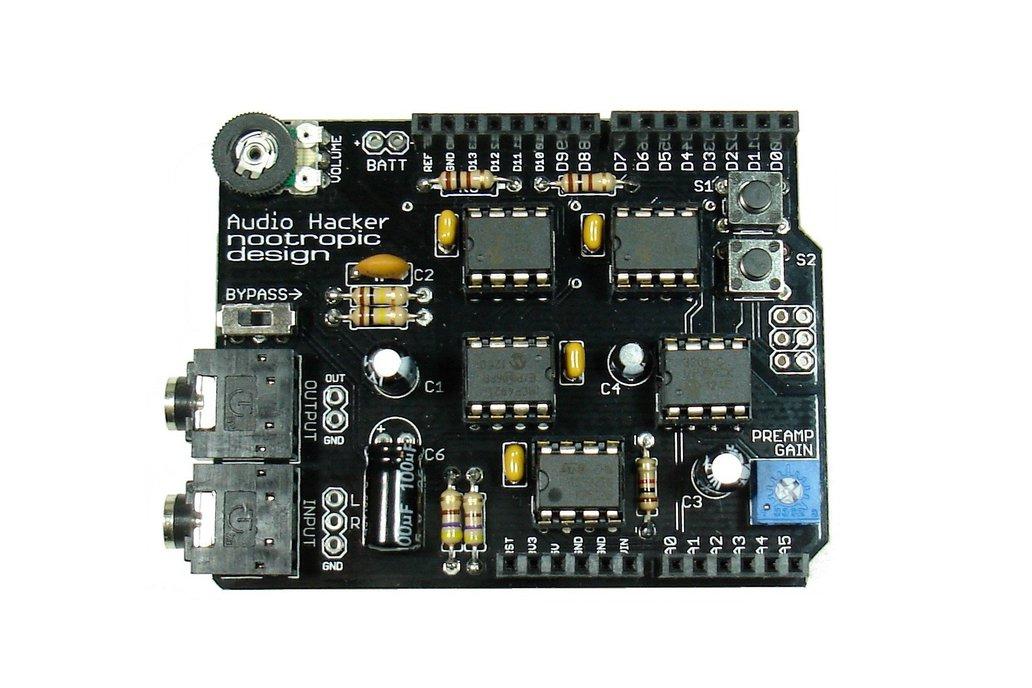 Audio Hacker Shield - Assembled 1