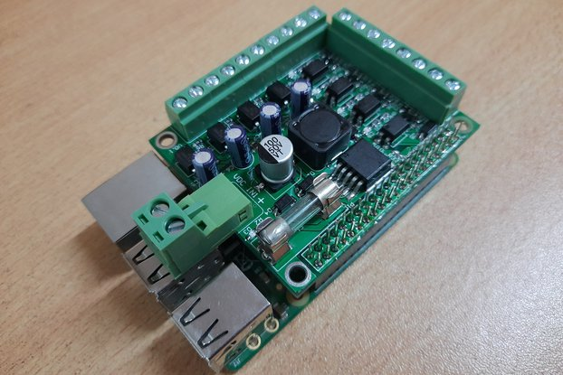 IA002:Isolated I/O Module for Raspberry Pi