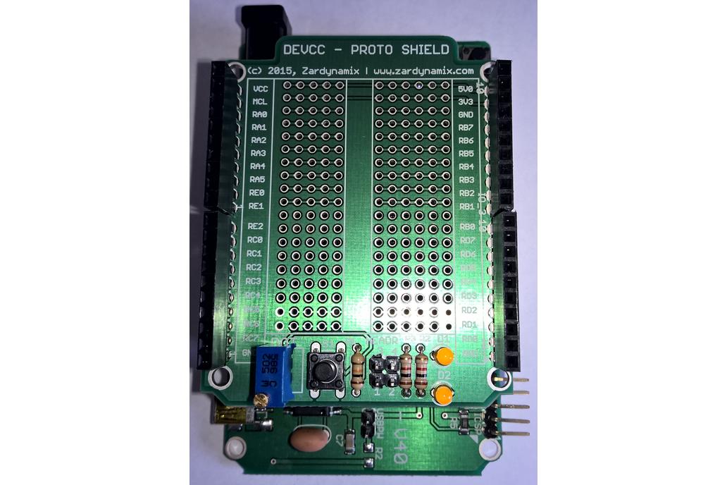 DEVCC - ProtoShield 8