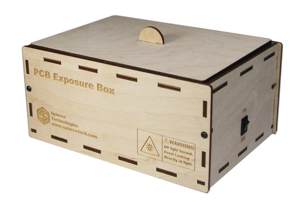 """PCB UV Exposure Box, 6"""" x 4"""" 1"""