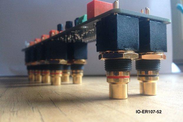 Audio Input Selector Switch Relay Module Board