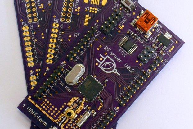 RFarmer ATmega256RFR2, 2.4 GHz ZigBee Transciever