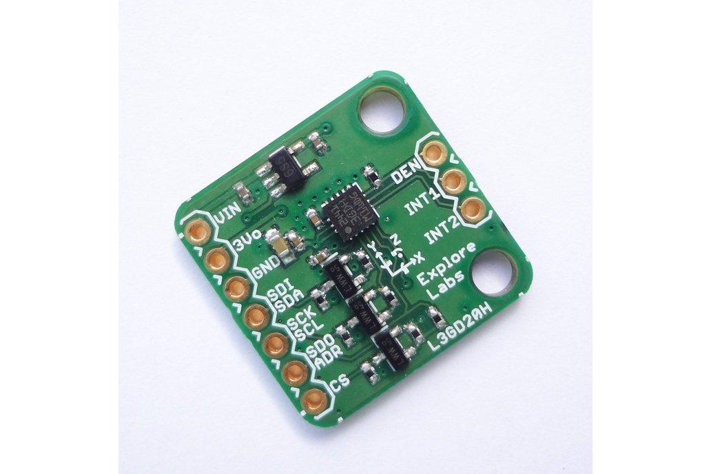 L3GD20H 3D Gyroscope 5V Ready w/ Voltage Regulator 1
